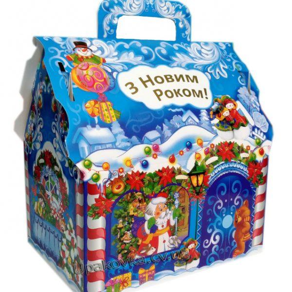 Новорічні пакети для цукерок та подарунків